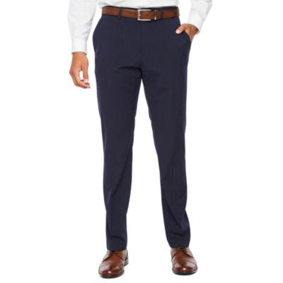 JF J.Ferrar Striped Super Slim Fit Stretch Suit Pants