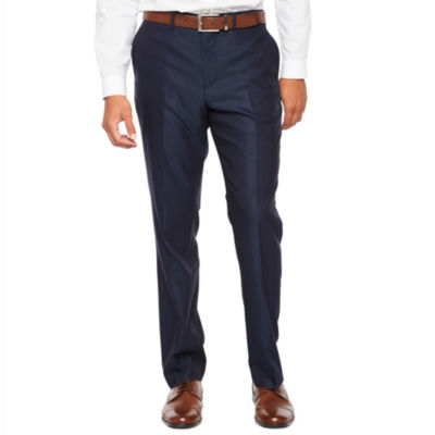 JF J.Ferrar Diamond Slim Fit Stretch Suit Pants