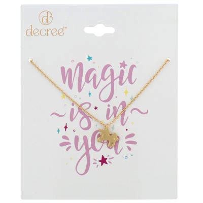 Decree Womens Pendant Necklace