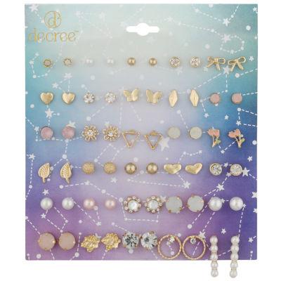 Decree 30 Pairs Earring Set