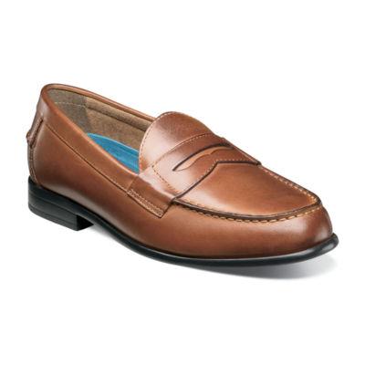 Nunn Bush Drexel Mens Moc Toe Dress Penny Loafer Shoes