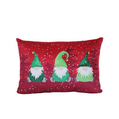 Gnomes Rectangular Throw Pillow