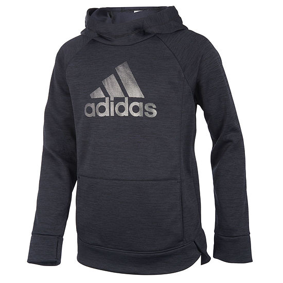 be65538dc adidas Lightweight Fleece Jacket Big Kid Girls JCPenney