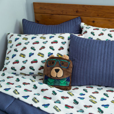 Frank And Lulu Holiday Travel Fleece Easy Care Sheet Set