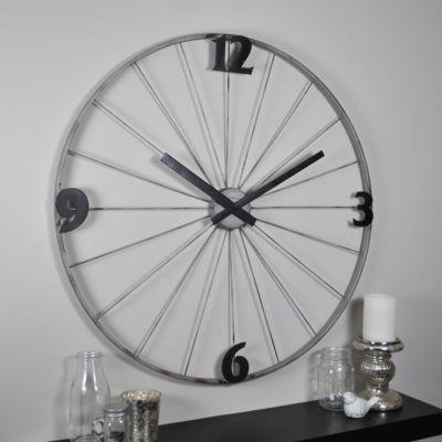 Bicycle Wheel Wall Clock-50086
