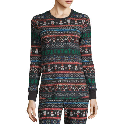 Sleep Chic Mix and Match Thermal Long Sleeve Tops