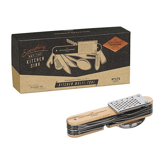 Gentlemen's Hardware 10-In-1 Stainless Steel Kitchen Multi-Tools