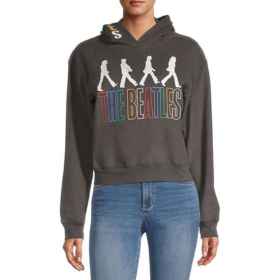 Juniors Womens Long Sleeve Fleece Hoodie