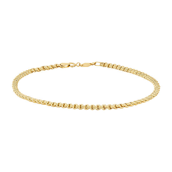 "14K Gold 10"" Alexandria Ankle Bracelet"