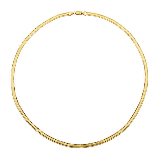 Made in Italy Womens 14K Gold Over Silver Pendant Necklace
