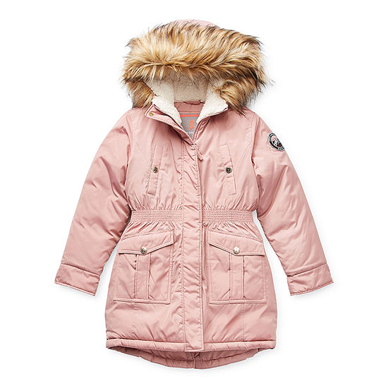 Free Country Little & Big Girls Hooded Heavyweight Anorak