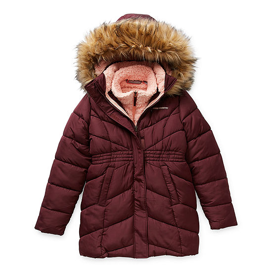 Free Country Little & Big Girls Hooded Heavyweight 3-In-1 System Jacket