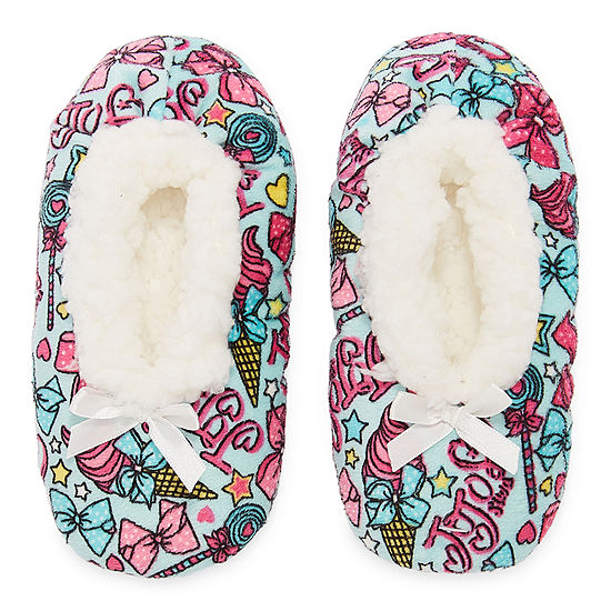 Jojo Siwa Girls Ballerina Slippers