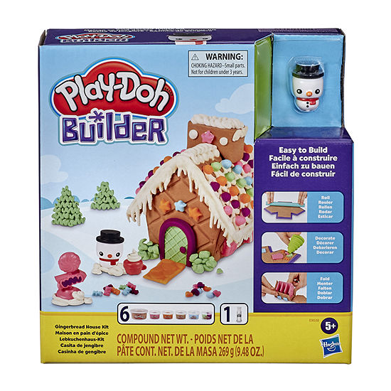 Play-Doh Gingerbread House Kit