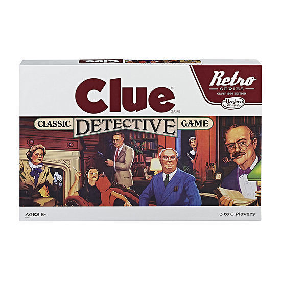 Hasbro Clue Retro Board Game