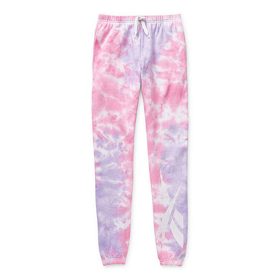 Reebok Big Girls Cuffed Jogger Pant
