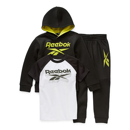 Reebok Little Boys 3-pc. Pant Set