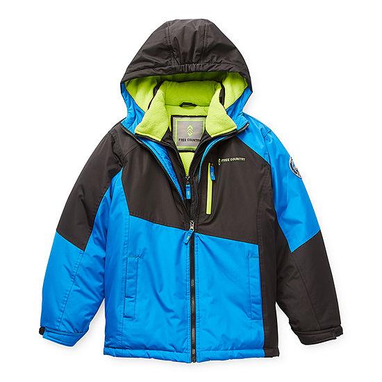Free Country Vestee Little & Big Boys Heavyweight Ski Jacket