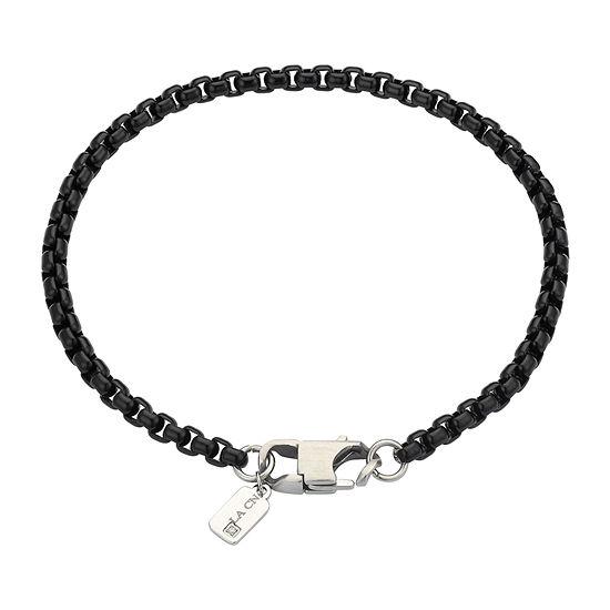 J.P. Army Men's Jewelry Stainless Steel 8 1/2 Inch Link Chain Bracelet