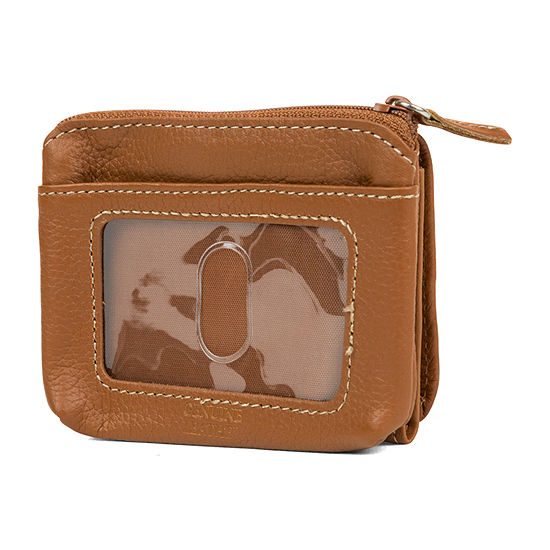Mundi Leather Mini Tri Fold Wallet