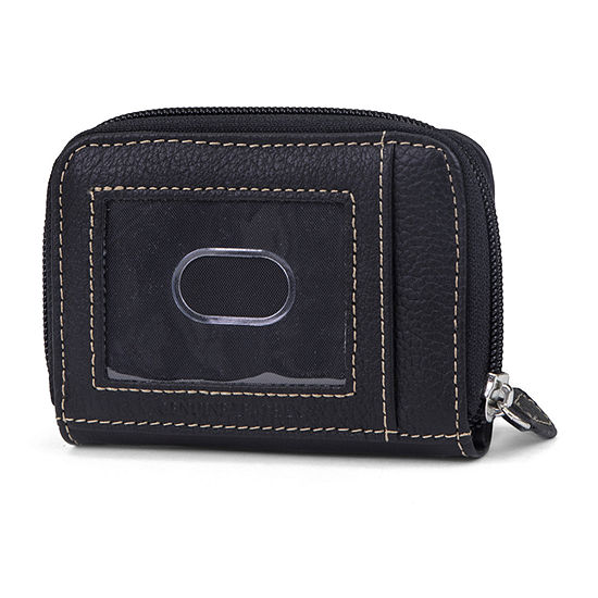 Mundi Leather Coins N Card Credit Card Holder