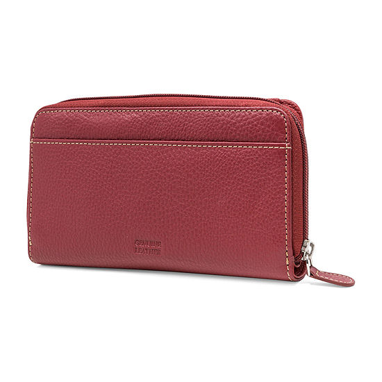 Mundi Leather All In One Clutch Wallet