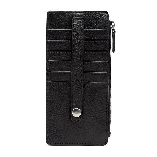 Mundi Leather Slim Credit Card Holder