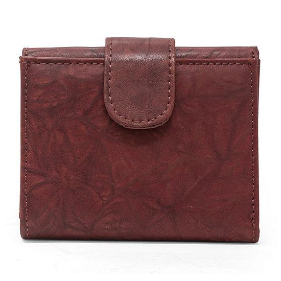 Mundi Leather Triplex Tri Fold Wallet