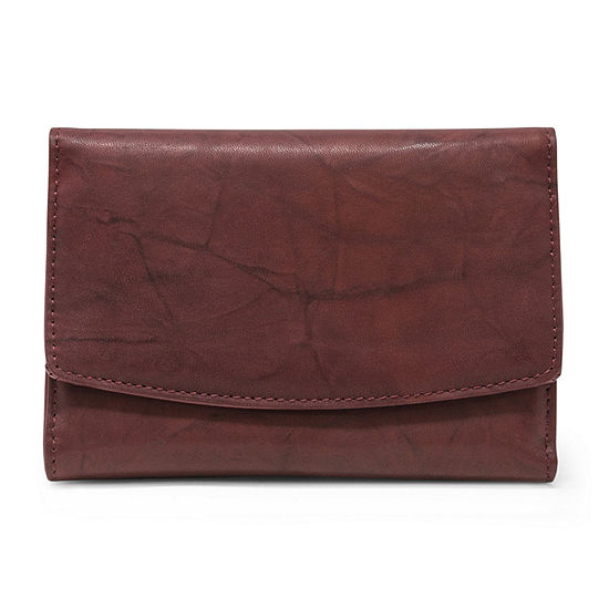 Mundi Leather Framed Indexer Wallet
