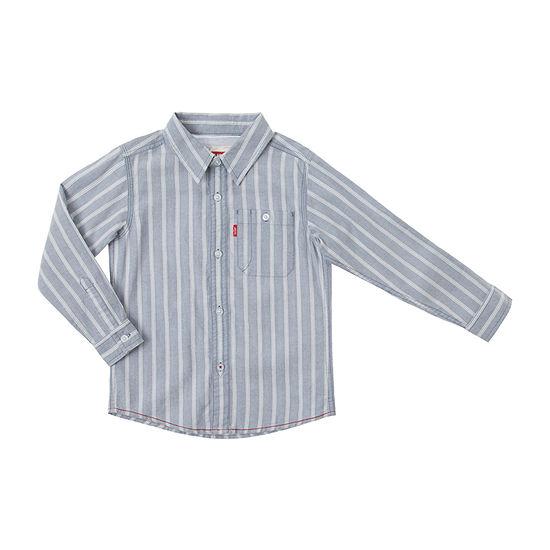 Levi's Big Boys Long Sleeve Button-Down Shirt