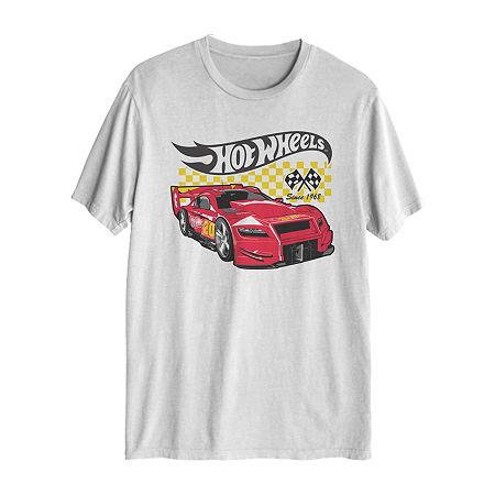 Tv + Movie/Pop Culture Mens Crew Neck Short Sleeve Graphic T-Shirt, Xx-large , White