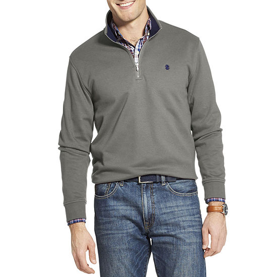 IZOD Advantage Performance Mens Long Sleeve Quarter-Zip Pullover