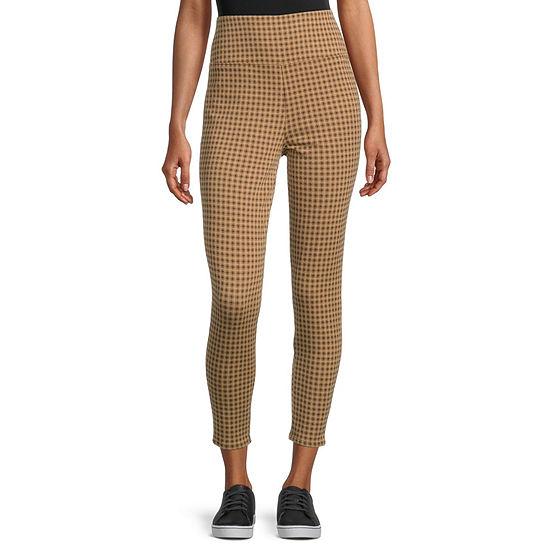 Arizona-Juniors Womens High Rise Skinny Pull-On Pants