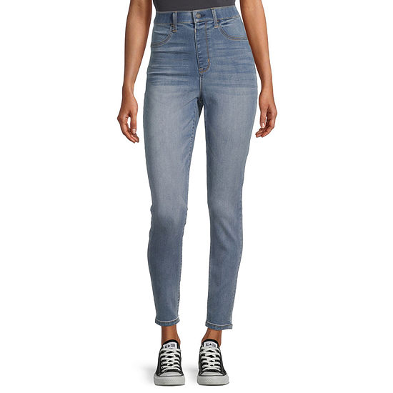 Vanilla Star - Juniors Womens High Rise Skinny Fit Jean