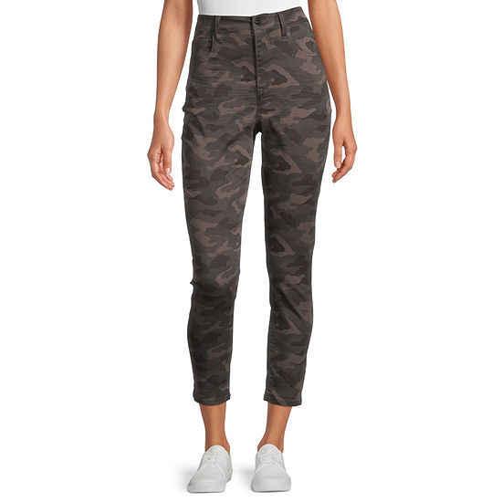 Arizona-Juniors Womens High Rise Skinny Fit Ankle Pant