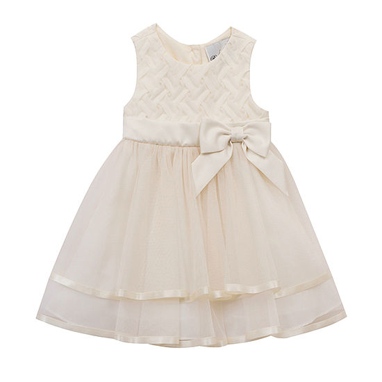 Rare Editions Little Girls Sleeveless Midi Party Dress