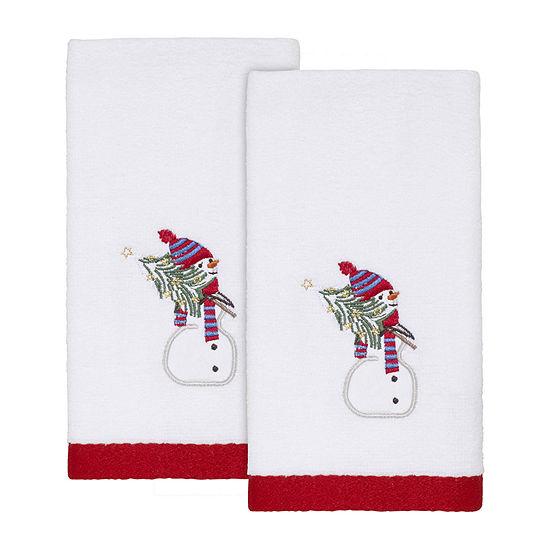 Avanti Snowy Friends 2-pc. Fingertip Towel