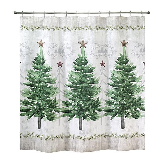 Avanti Trees Shower Curtain