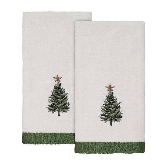 Avanti Trees 2-pc. Fingertip Towel
