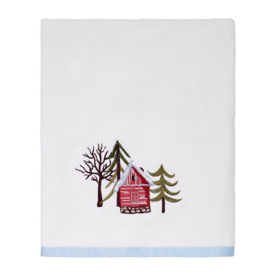 Avanti Christmas Village Holiday Bath Towel