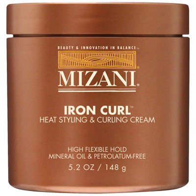 Mizani® Iron Curl Heat Styling & Curling Cream - 5.2 oz.