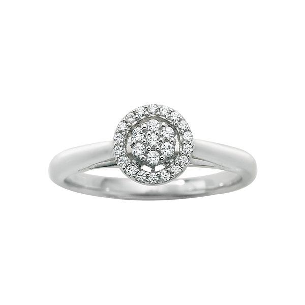 T W Certified Diamond Enement Ring