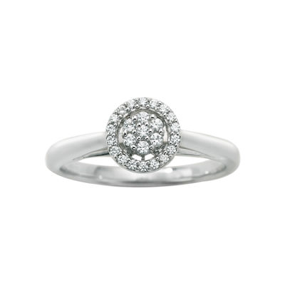 I Said Yes™ 1/6 CT. T.W. Certified Diamond Engagement Ring