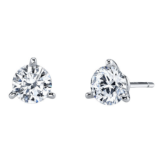 cd4f0a284 DiamonArt Cubic Zirconia 1 CT TW Stud Earrings JCPenney