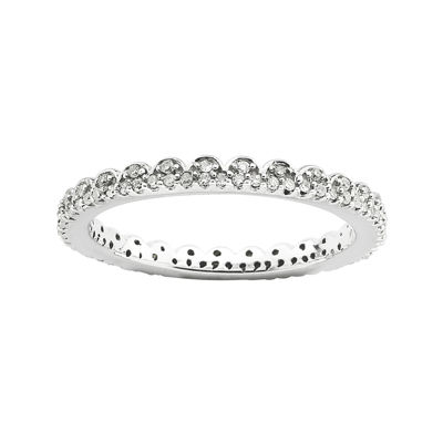 Personally Stackable 1/4 CT. T.W. Diamond Eternity Ring