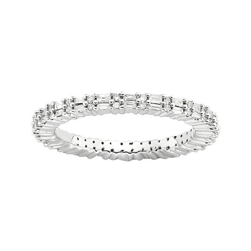 Personally Stackable 1/3 CT. T.W. Diamond Eternity Ring