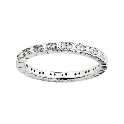 Personally Stackable 1/7 CT. T.W. Diamond Eternity Ring