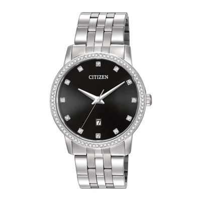 Citizen® Mens Stainless Steel Crystal-Accent Bracelet Watch BI5030-51E