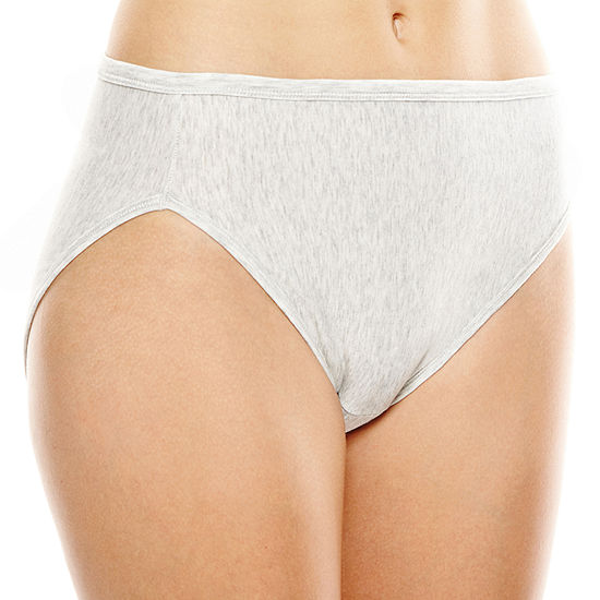 afce174fef8f8 Vanity Fair Illumination Cotton Blend Hi Cut Panties 13315 JCPenney