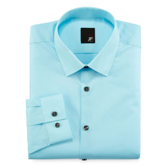JF J. Ferrar® Slim-Fit Easy-Care Dress Shirt - Big & Tall